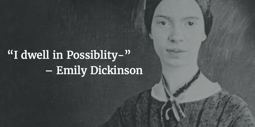 #quoteoftheday, #quote, #dailyquote,@E_Dickinson, @Poetry_Daily