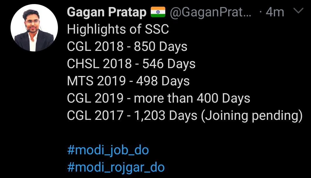 @GopalvermaEng #modi_job_do  #modi_rojgar_do  Plz🙏 talk about रोजगार l   Rukna mt  aaj #GodiMedia Ko apni awaaj suna dena.  @pmo @ZEE5News  @Republic_Bharat  @indiatvnews https://t.co/TysWSYPZis
