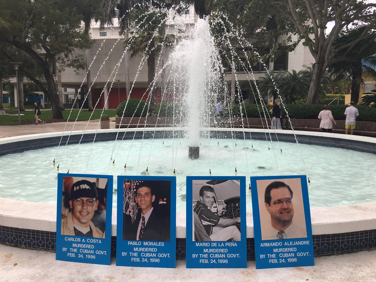 25th Silent Vigil for Justice at @FIU for Brothers to the Rescue shoot down victims  1/