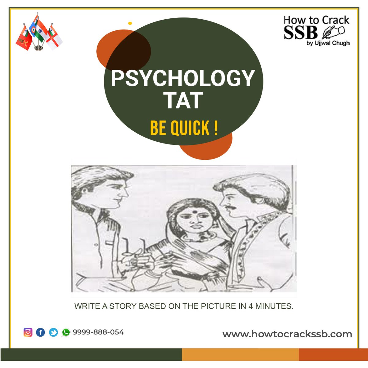"Write a meaningful Story based on the picture in 4 minutes... ""Thematic Apperception Test"" Share your answer in the comment box.  #tat #ssbtat #ssb #psychology #ssbpsychology #jaihind #crpf #ncc #indianarmedforces #itbp #soldier #instagood #military #like #bharat #hindustan"