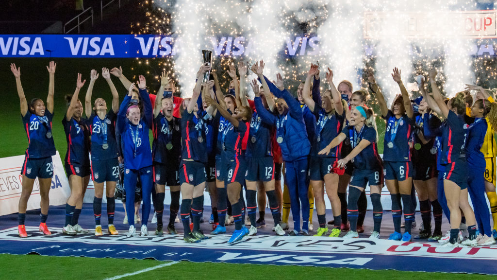 Another #SheBelievesCup, another #USWNT trophy. @TheDanLauletta looks at the easy win over Argentina, and a few roster questions as the Olympics inch closer:  ➡️