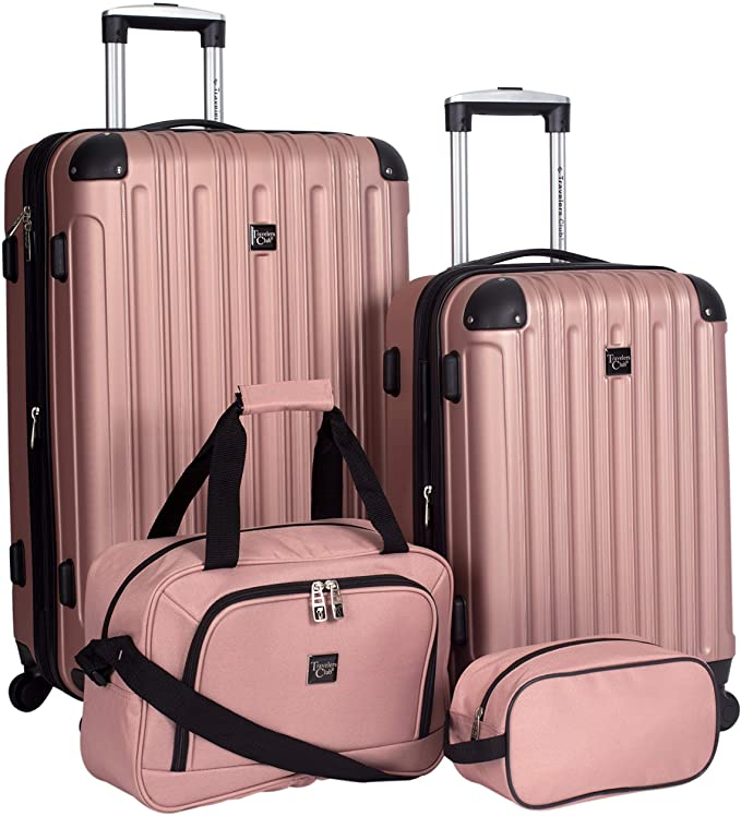 Travelers Club 4 Piece Midtown Luggage Set  Only $99.98!!