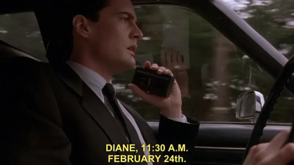 Almost missed #TwinPeaksDay, Diane.