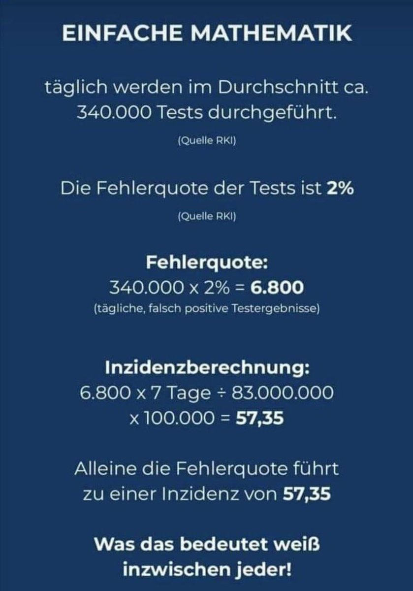 Einfache Mathematik... So viel zu #ZeroCovid 😂 #lockdown #maßnahmen #plandemie