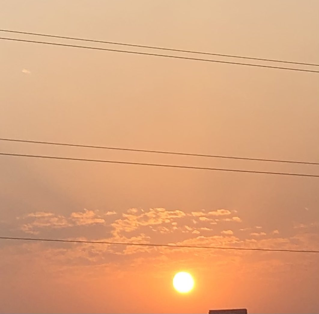 """#sunshine is the best medicine to our soul..#Sky #GOLDEN #hope   #PositiveVibes Today morning   #GreaterNoida (west) with  statues """"Salute to Corona warriors """" at Hanuman 🛕 Golchakar   @77cyclotribe #cycling  #HealthyLiving  @photohour @stormhour #NaturePhotography #mobilephoto"""