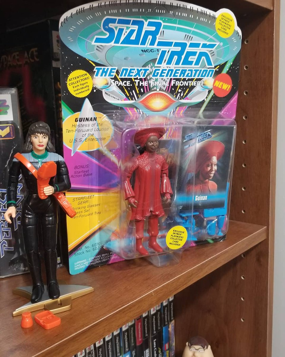 A little Guinan to class up my collection and another Generation X character because I love that comic. #Toys #ActionFigures #Collection #StarTrek #XMen #Marvel #GenerationX #StarTrekTNG