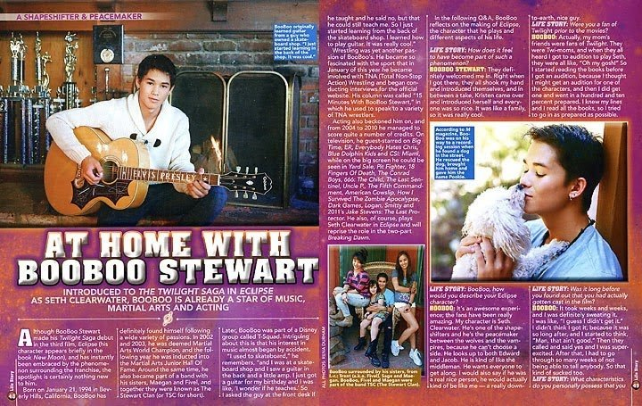 We've added another article to the Press Archive, this time from Life Story Magazine's December 2010 issue. The scans we have are not full as there is some bits missing. (Yes I picked apart the LQ scans for this article.)  📸 | https://t.co/htR5BwlOqt https://t.co/rZHaAV2xNy