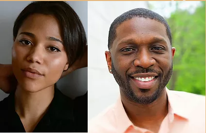 Don't miss Katori Hall's The Mountaintop streams Saturday February 27 at 7:30pm and Sunday February 28 at 3:00pm. Use the code King for a 10% discount on adult ticket.  Sophia Lucia Parola as Camae  Theodore Sapp as Dr. King   #katorihall #martinlutherking