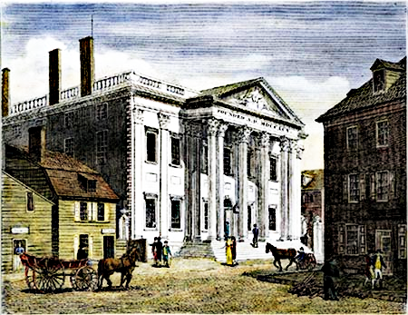 230 years ago today, President Washington signed the charter of the 1st Bank of the United States.