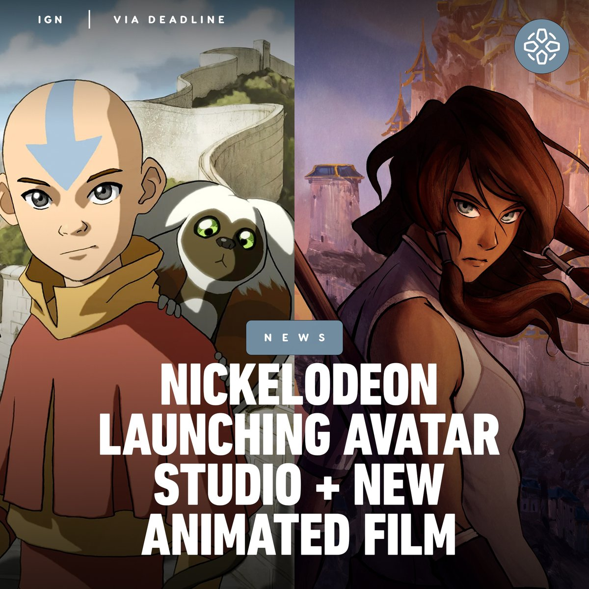 Nickelodeon is launching an animation studio dedicated to Avatar, which will include a feature-length animated film and other future projects.