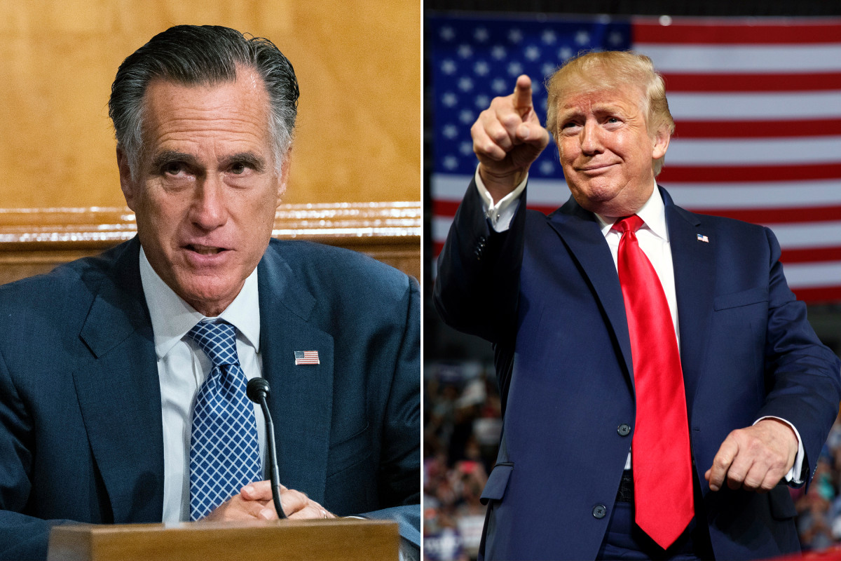 Mitt Romney says Trump would win 2024 GOP nomination if he ran for president again