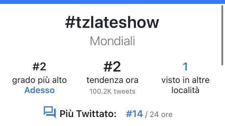 #TZLATESHOW