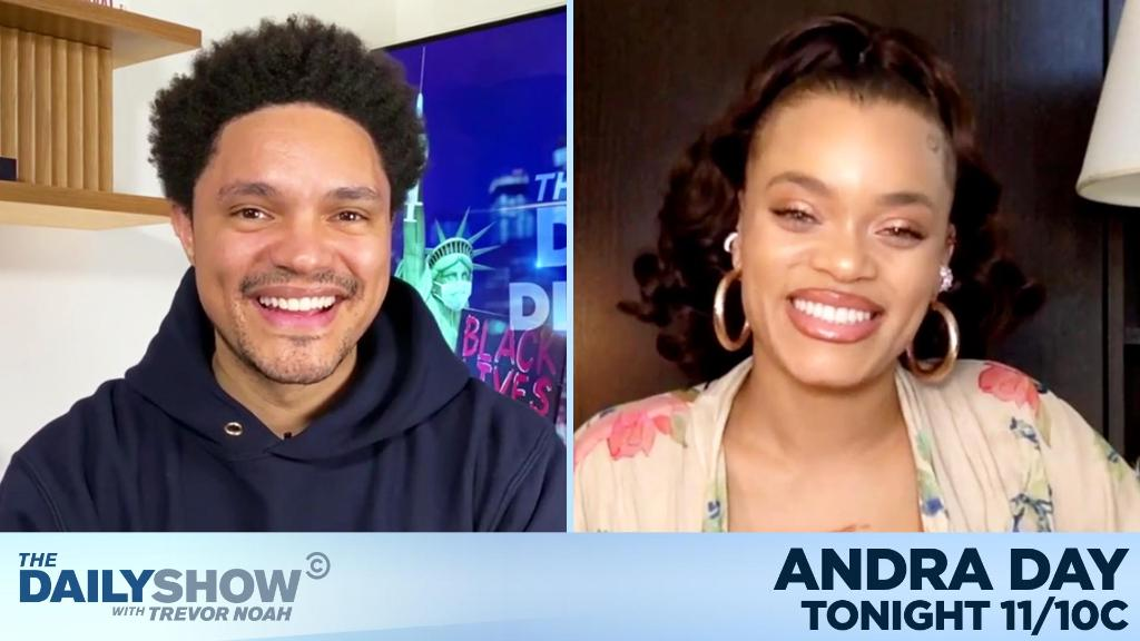 "TONIGHT: @AndraDayMusic is here to talk about the legacy of Billie Holiday and playing the iconic singer in ""The United States vs. Billie Holiday."""