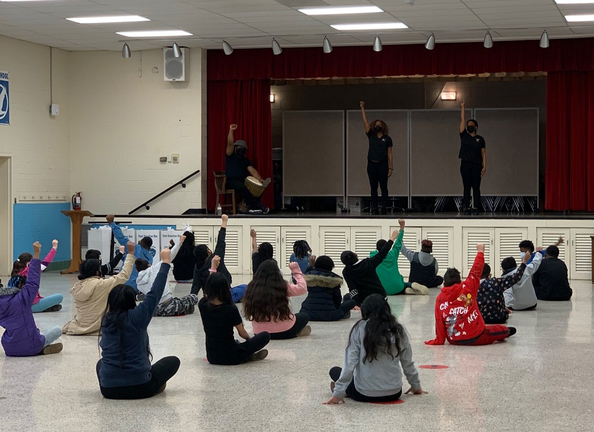 Today, our 3rd-5th scholars got to experience an energized & inspiring  dance program provided by Joyemovement. We appreciate you!!🩰🎬🏆