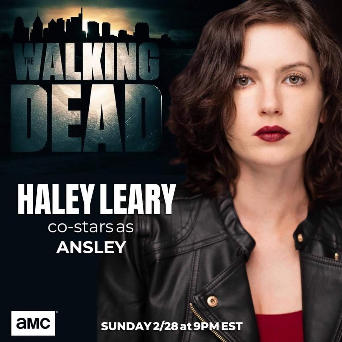 🚨Proud momma alert🚨 Just so THRILLED for her.  Sunday night I will get to watch my daughter @haley_leary on...#TWD #TheWalkingDead ❤