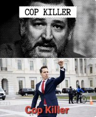 #TuckerIsABigot  He's ok with  DEAD COPS!