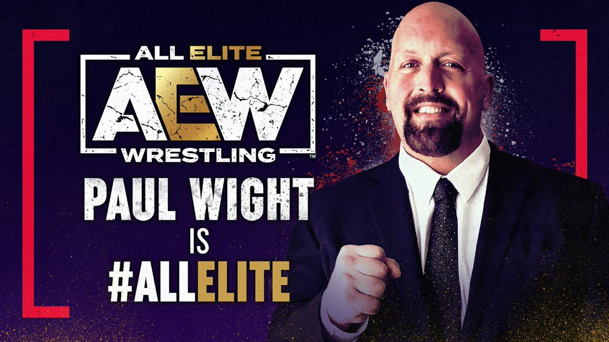 One of my all time favorites!   YOU HAVE NO IDEA HOW HAPPY THIS MAKES ME!!!! 😃😃😃🤯🤯🤯  Congrats @PaulWight   #AEWDynamite