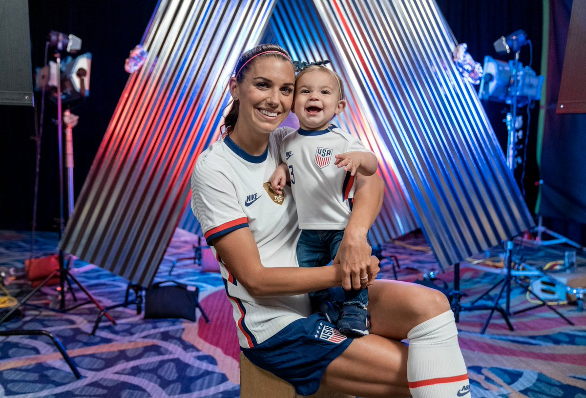 Alex Morgan scored her first goal since becoming a mom as the USWNT secured another SheBelieves Cup title ❤️ 🏆  (via @USWNT)