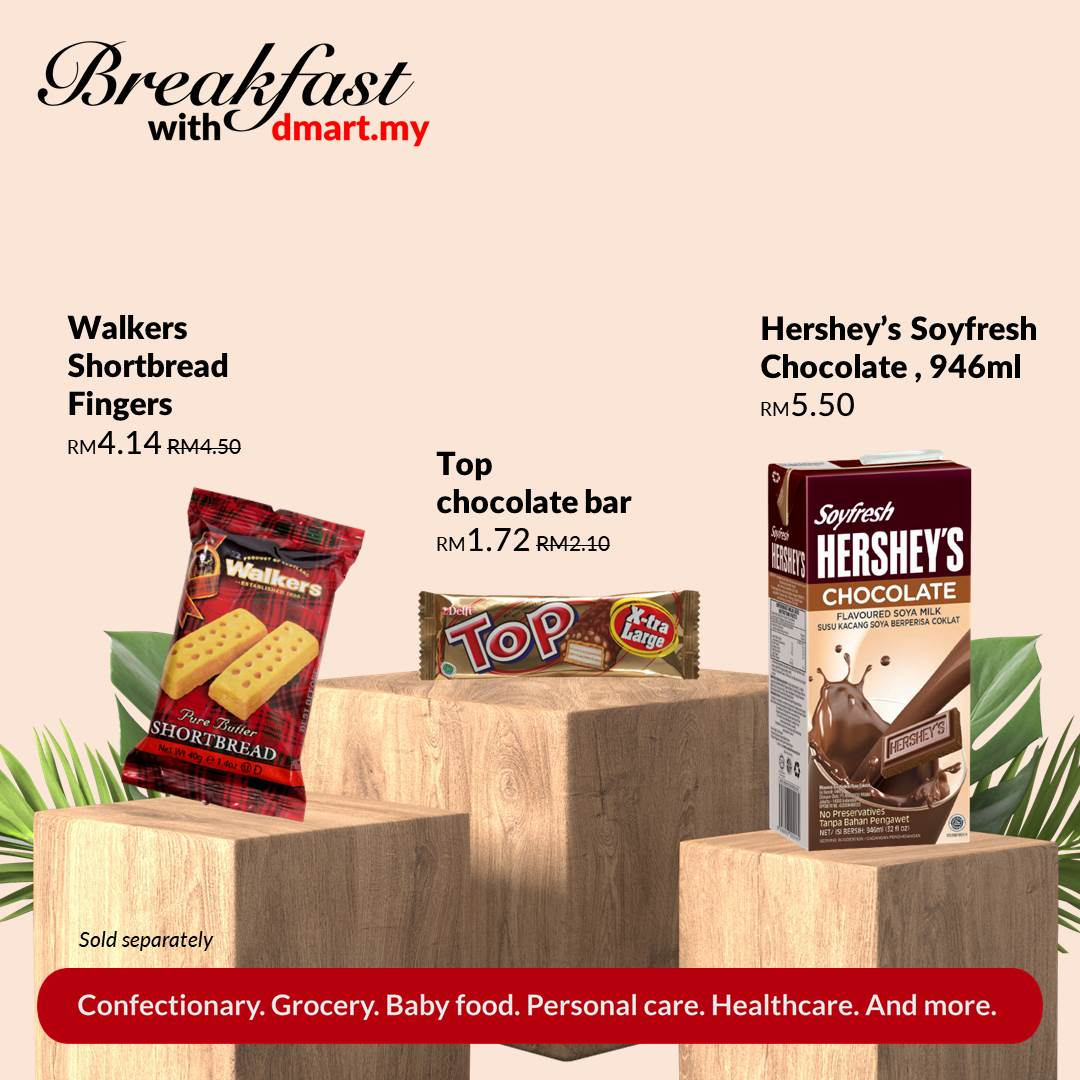 Fed up with the same-old #breakkie choice😥? 💡DAY#4💡: It's pre-TGIF😅! Let's try dipping some #Walkers #Shortbreads into your #Hersheys Soyfresh! End the routine with a #TOPchocolate bar🍫.✨ #whattoeattoday #breakfastchoice #healthylifestyle #kickstarttheday #freeshipping