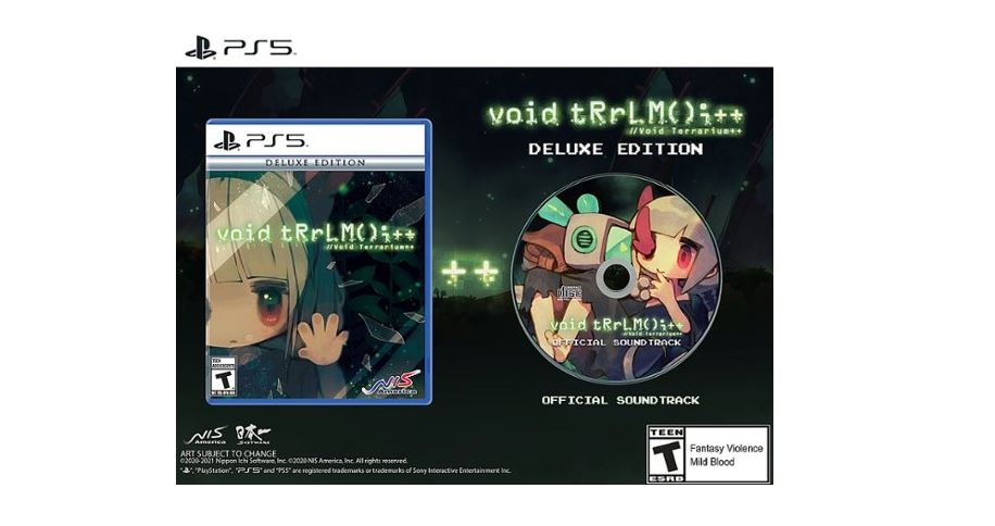 Pre-Order: Void Terrarium ++ Deluxe Edition (PS5) $39.99 via Best Buy.
