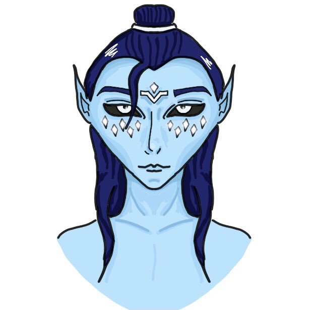 Will probably take this down when I start hating this but some very rare coloured art by myself, of Orion Astraeus #ocart #dndartists #dungeonsanddragons #DnDcharacter #ArtistOnTwitter