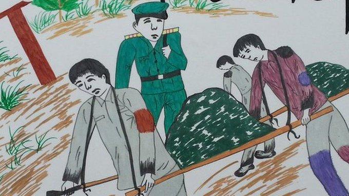 North Korea enslaved South Korean prisoners of war in coal mines Photo