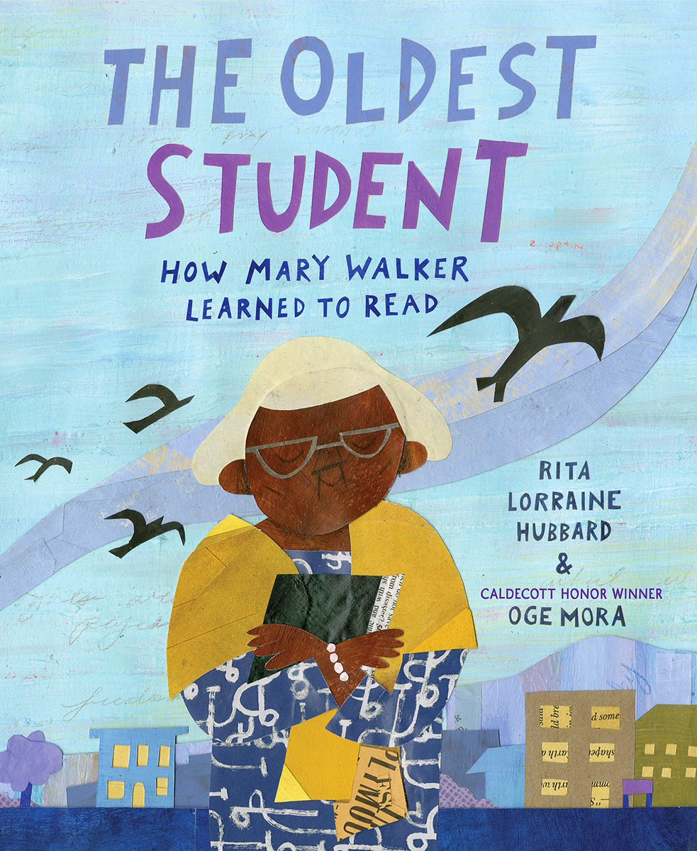 """We are almost finished reading our March Book Madness books to get ready for voting next week! Today we read """"The Oldest Student"""" and the story brought me to tears! What a wonderful book to read during #BlackHistoryMonth and a great reminder that you are never too old to learn!"""