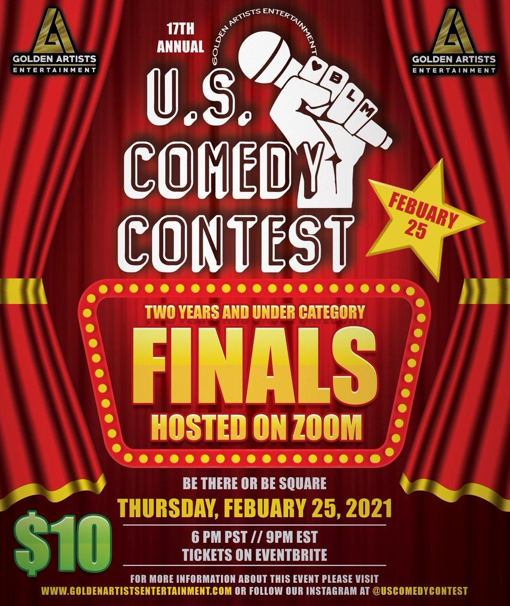 Tomorrow night! 6PM PST! @uscomedycontest #comedy #standupcomedy #Contest