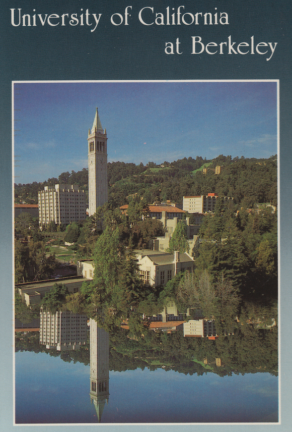 Funny, I don't remember a giant lake on Berkeley's campus...
