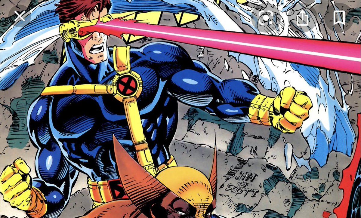 This is a safe space right? My boy Cyclops will body like 90% of the other mutants! #XMen #Cyclops #ISaidWhatiSaid
