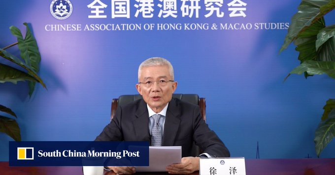 SCMP China Conference: former Beijing official makes pitch for Asean countries to go big into Greater Bay Area and work with Hong Kong Photo