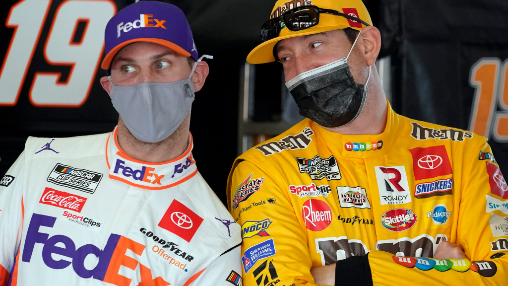 Denny Hamlin sounds off on Kyle Petty's suggestion that he could be replaced by a younger driver https://t.co/GpvXWH3mb4 https://t.co/zeNvSXkYCB