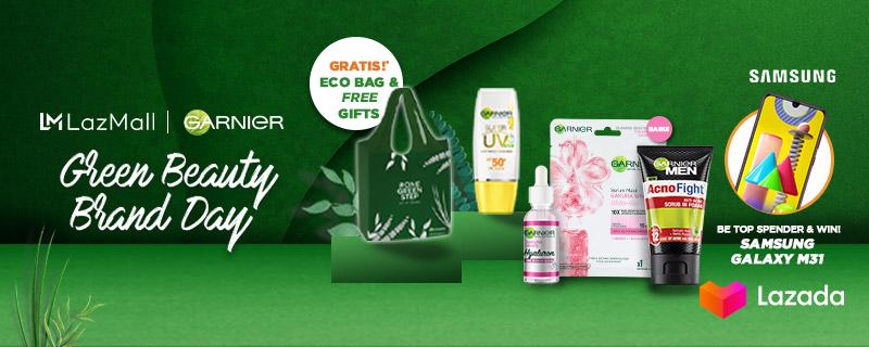 Lazadians, produk Garnier favorit kamu lagi diskon hingga 50% di Garnier Green Beauty Brand Day! Dengan membeli produk Garnier kamu juga terlibat membantu untuk mengurangi limbah plastik. Seru kan? Yuk cek disini:   #YakinDariHati #Lazada33Sale #LazadaID
