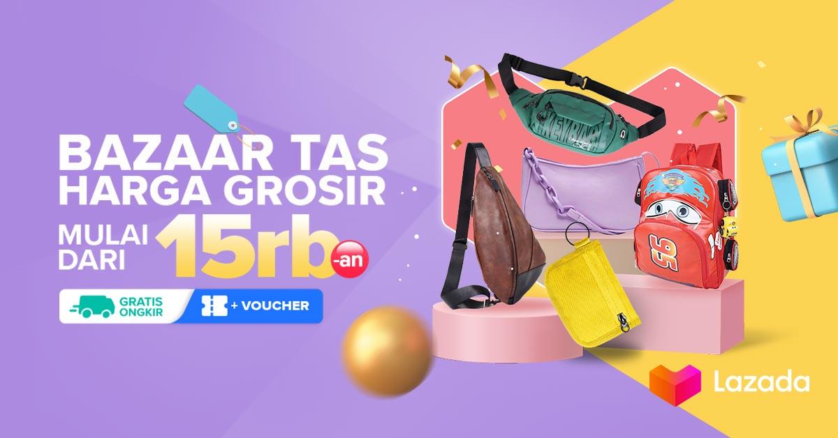 Tampilan kamu ngga akan lengkap tanpa tas kece favorit kamu! Lazada punya banyak berbagai macam pilihan tas dengan harga mulai dari 15 RIBU aja loh. Yuk, cek link berikut:    #YakinDariHati #Lazada33Sale #LazadaID