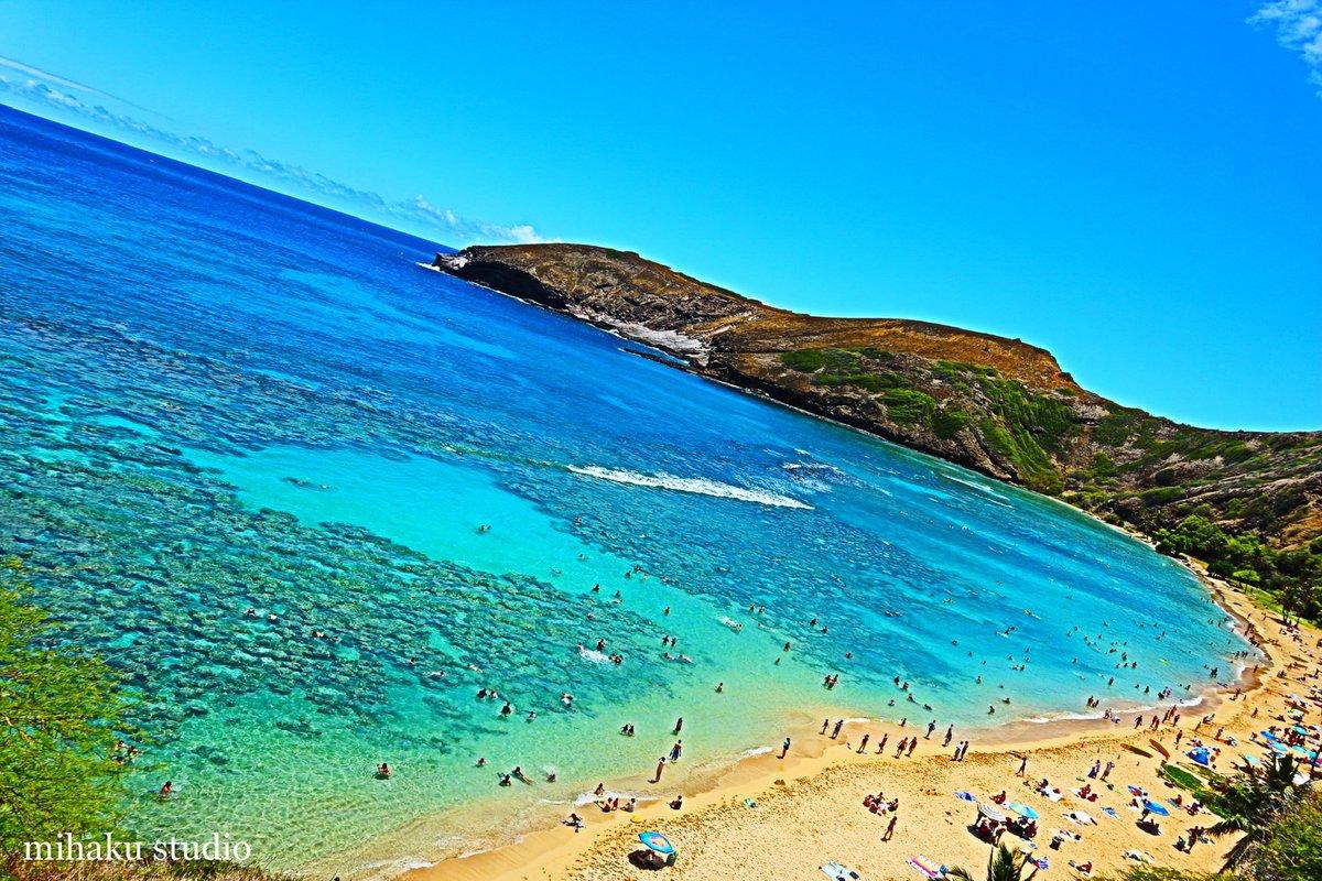 突然恋しくなるハワイの青  #photography #Hawaii #Hanaumabay #blue #sea #sky #nature #写真好きな人と繋がりたい #ファインダー越しの私の世界 #ハワイ #ハナウマベイ #青 #海 #空 #自然