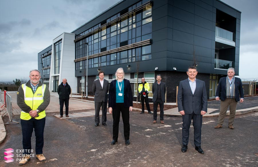 It's fantastic to see work completed on the Ada Lovelace Building @ExeterSciencePk, which will provide such valuable innovation space for #STEMM businesses 👇 https://t.co/KyYrM4RNuG