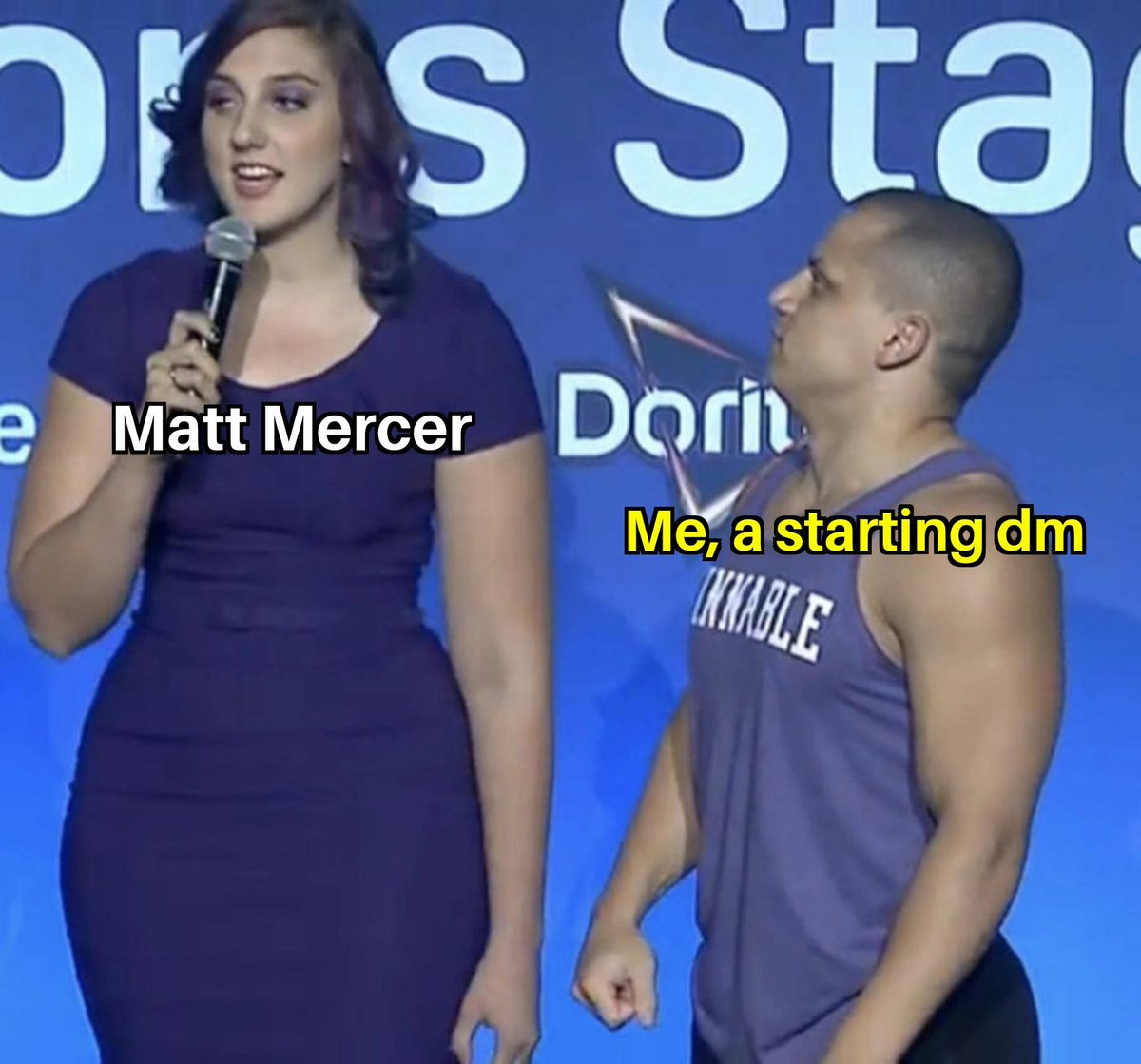 As much as Matthew Mercer is am example for many, he isn't perfect. And that's okay, for me he is a big example in many things and difficult to try to match. Who is your favorite dm? #dungeonsanddragons #mattmercer #CriticalRole #dungeonsanddragons #dndmeme #dndmemes #dnd #dnd5e