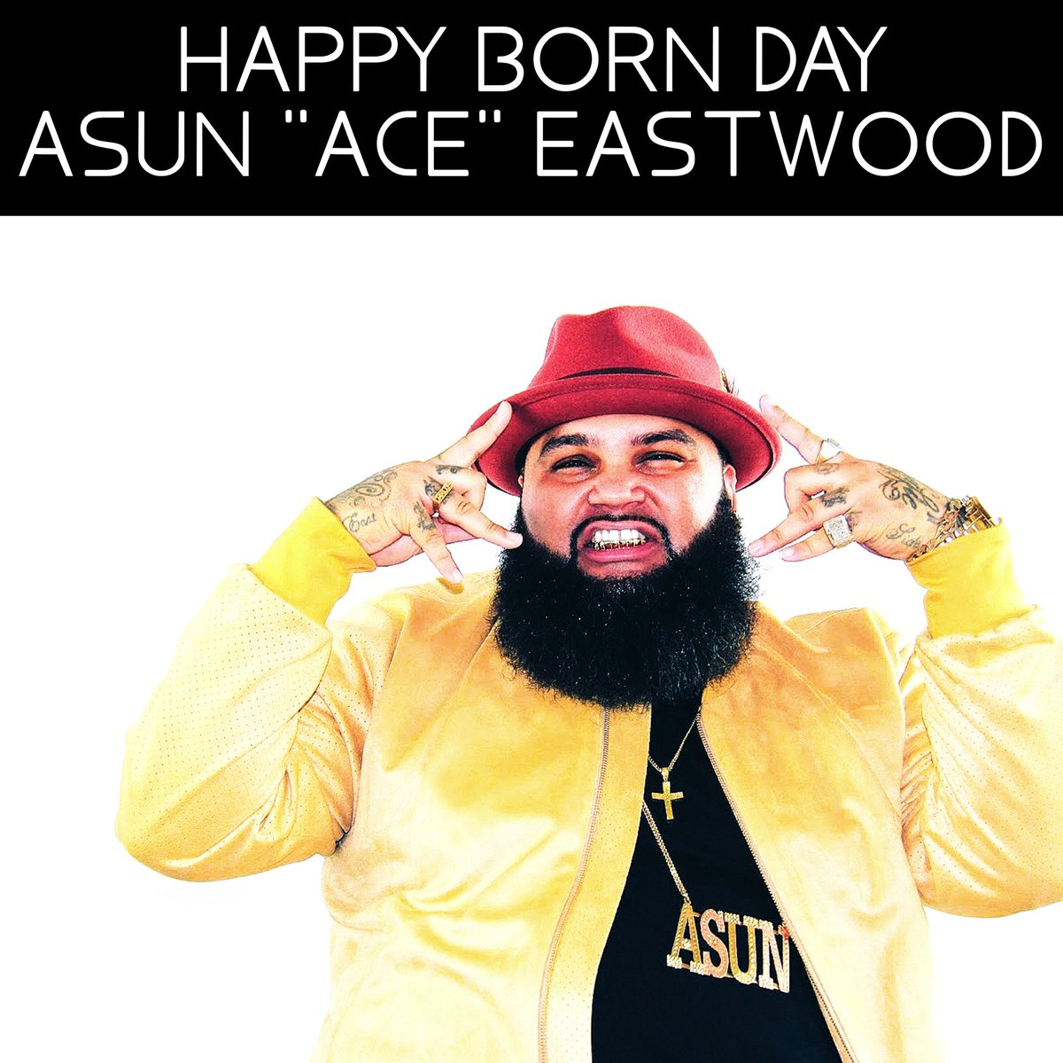 SALUTE @ASUNEASTWOOD  FEBRUARY 23  #therealyoska #america #english #mrquick #moveyo #asuneastwood #happybirthday #rapper #music #day