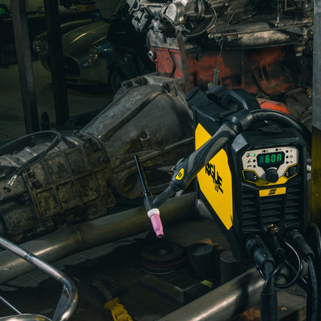 #ESAB Rogue ET is a powerful entry level high frequency start TIG machine. Designed within compact housing. The Rogue has impressive arc characteristics in #TIG & #MMA modes.  Are you ready to go rogue?  Full specification on our website   #weldingequipment