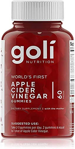2 Apple Cider Vinegar Gummies by Goli Nutrition