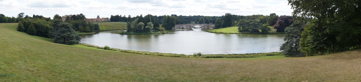 @panophotos  Reputed to be one of the finest views in England, and I have to agree.  Blenheim Palace, Oxfordshire.