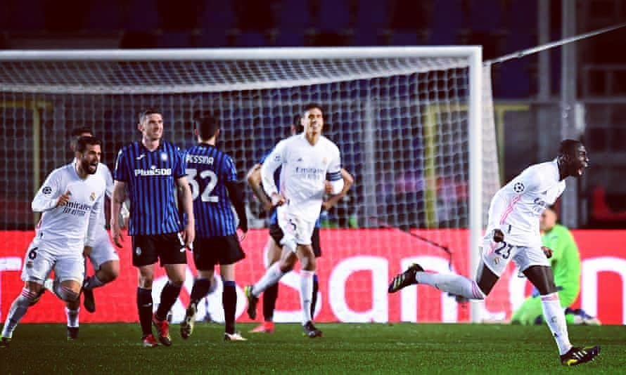 Atalanta 0-1 Real Madrid (Mendy 86')🇮🇹🇪🇦 #atalanta #realmadrid #ferlandmendy #casemiro #courtois #muriel #duvanzapata #zapata #varane #bbcsport #btsports #skysports #skysportsnews #espn #cyprus #italy #championsleague #uefachampionsleague #zidane #viniciusjr
