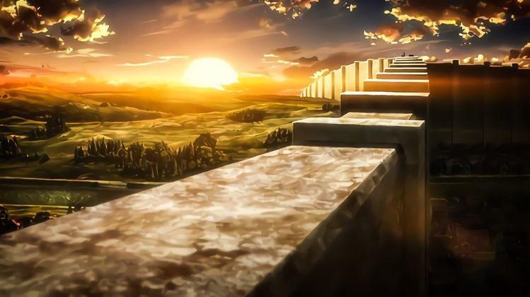 The walls of the paradis island . . . #aot #AttackOnTitan #ATTACKONTITANTHEFINALSEASON #ShingekiNoKyojin #ShingekiNoKyojinTheFinalSeason #aotart