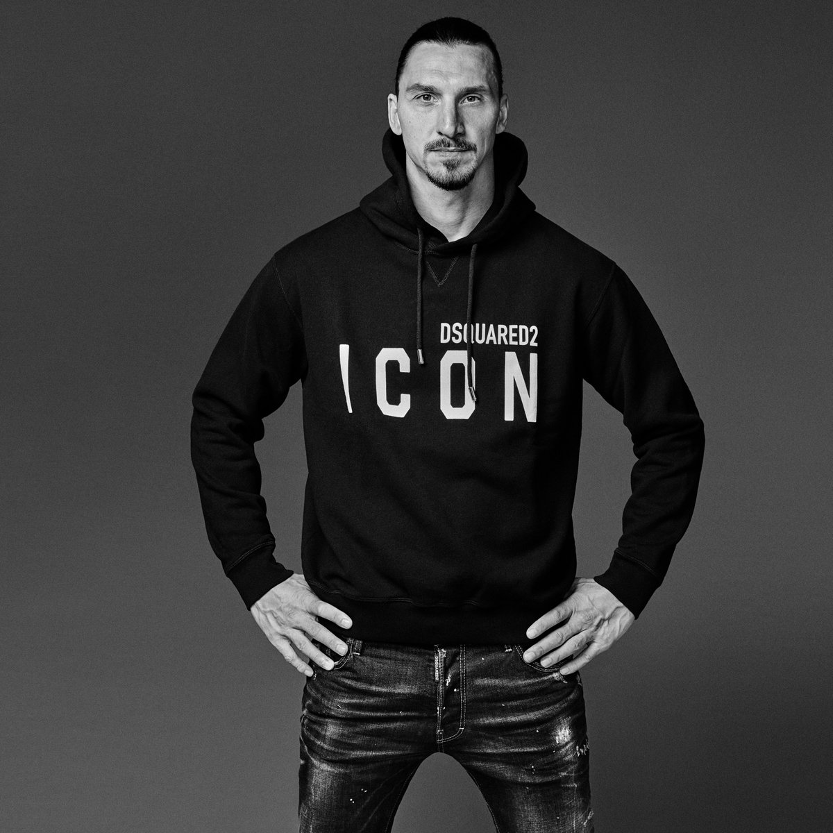 #D2xIBRA: 'I have never won silvers, only lost gold' @Ibra_official  – The new capsule is out now 🔥 Discover the collection  #Dsquared2 Talent: @Ibra_official  Photographer: Giampaolo Sgura @ Chris Boals Artists Styling: Dean and Dan Caten