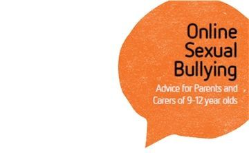 The thing that is happening online but nobody talks about  @childnet have produced this guidance to help parents and carers and their children talk about the important issue of online sexual bullying with 9-12 years olds