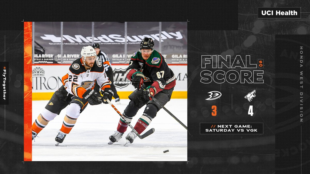 We get a point but cant close them out. Recap: bit.ly/DucksARIGame02… #FlyTogether