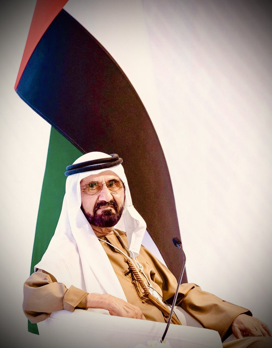 Our Great Leader and Visionary His Highness Sheikh Mohammed bin Rashid Al Maktoum - A Leader with a amazing Vision for His Country and People!! GOD bless the UAE 🇦🇪!! 💐💯❣️🌹 #Blessed #GODBlessYou #MyUAE #TogetherStronger #TogetherWeRise