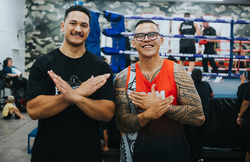 Photos from the Community Engagement & Open Training session with a few of the fighters on the Parker vs Fa fight card, held out at the BBM gym in Manukau.  Who's heading to fight night on Saturday?