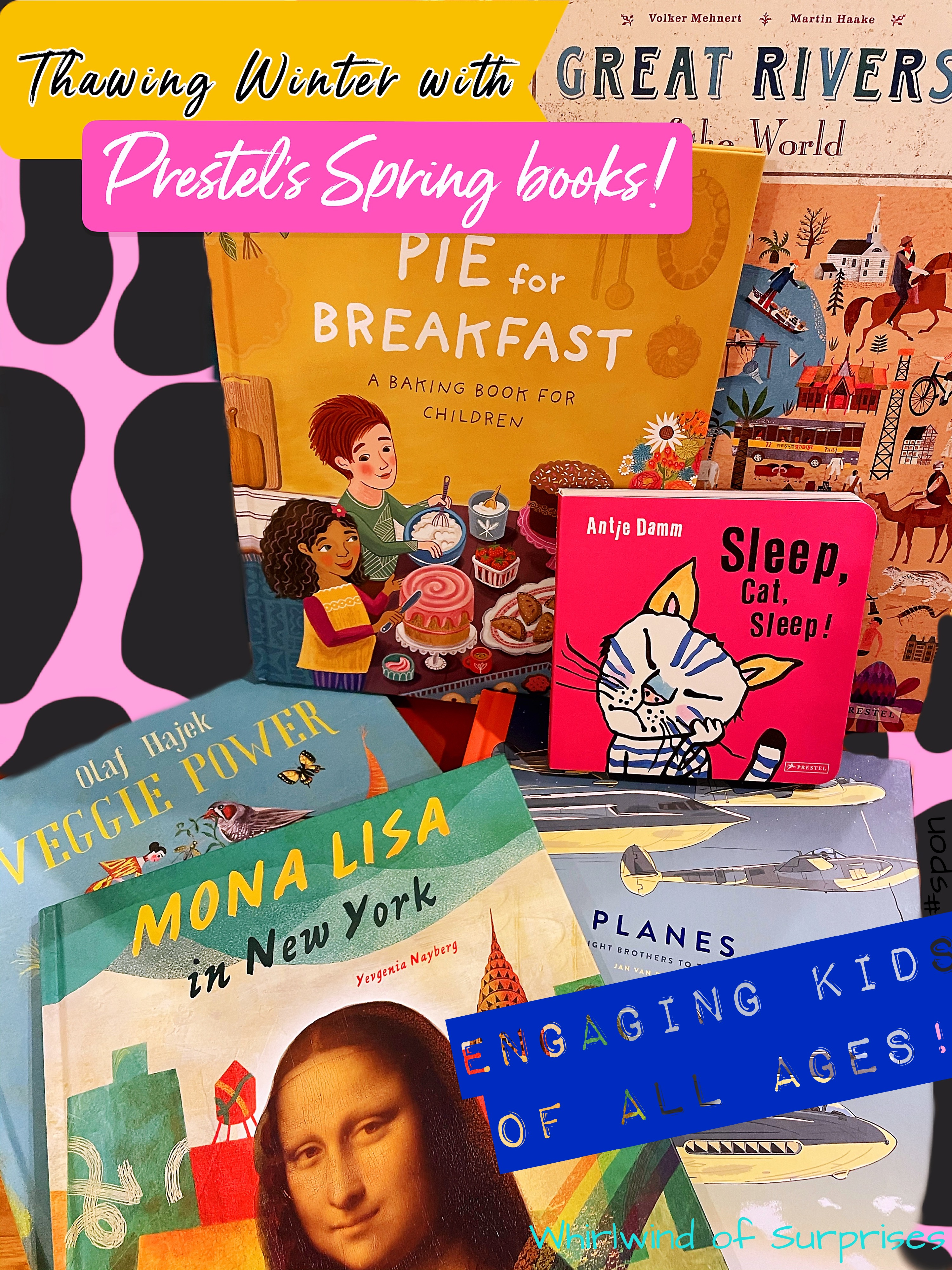 Spring books to help thaw winter and fun reading with the kids.