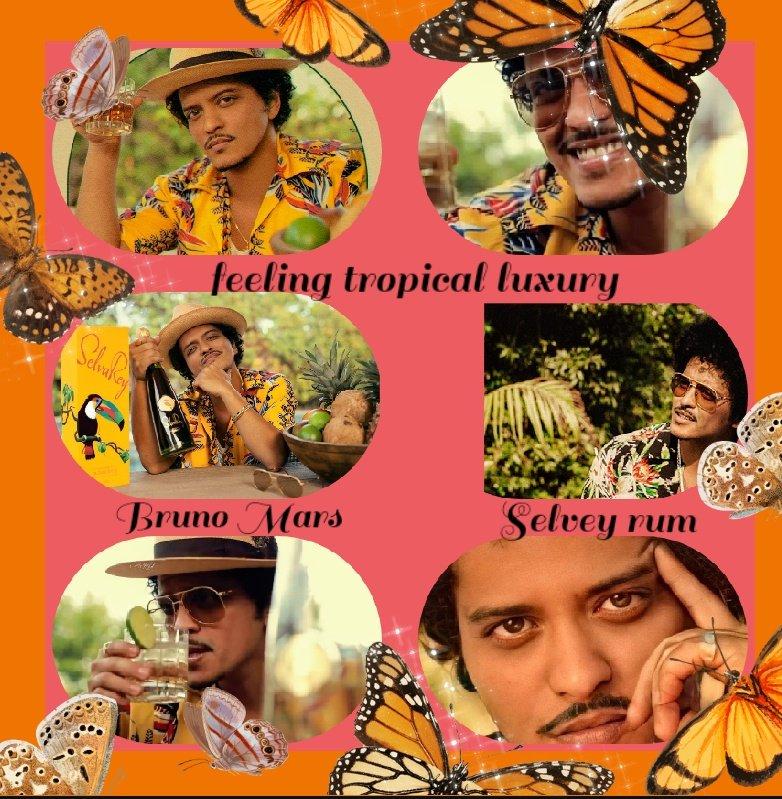 Time with @BrunoMars #TropicalLuxury @SelvaReyRum ❤️